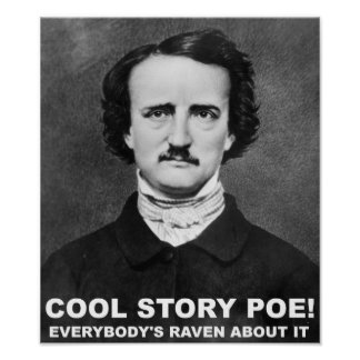 Cool Story Poe Funny Poster