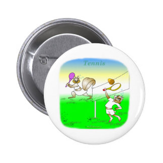 Cool tennis gifts for kids 2 inch round button