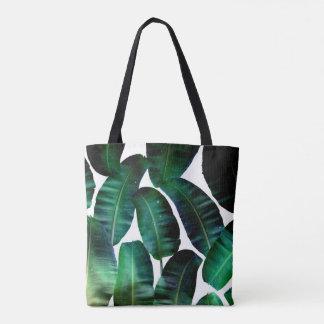 Cosmic Banana Leaves Tote Bag #zazzle