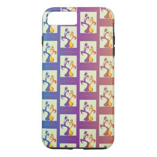 Couples V de tulipe Coque iPhone 7 Plus