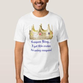 Coupon King Short Sleeve Tee Shirt