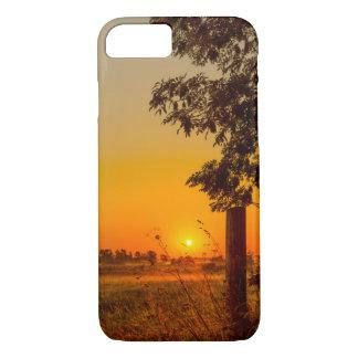 couverture d'iPhone avec un lever de soleil de Coque iPhone 7