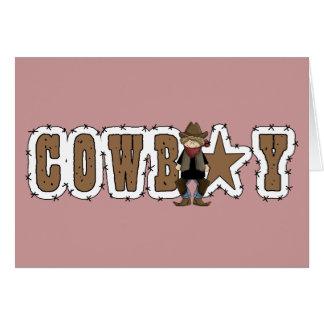 Cowboy Happy Birthday Wishes - Western Greeting Card