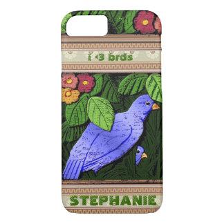 Craftsman Birds iP6 (Personalized) iPhone 7 Case
