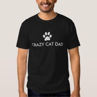 Crazy Cat Dad T-shirts