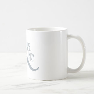 Crazy Dinosaur Lady Classic White Coffee Mug