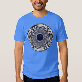 Crazy Optical Illusion - Holographic Circle Shirt