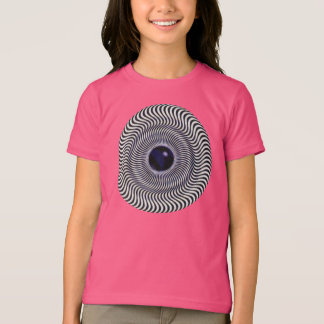 Crazy Optical Illusion - Holographic Circle T-shirts