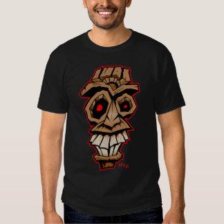 Crazy Tiki mask T Shirts