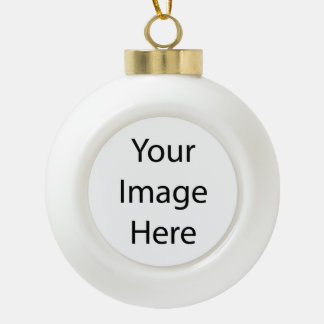 Create Your Own Ceramic Ball Ornament (Bell)