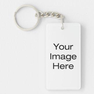 Create Your Own Double-Sided Rectangular Acrylic Keychain