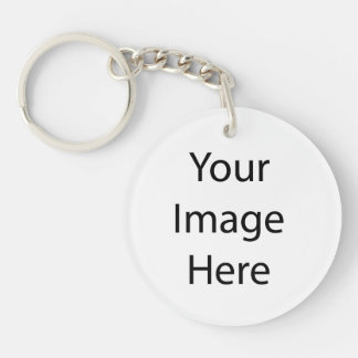 Create Your Own Double-Sided Round Acrylic Keychain