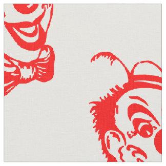 Creepy Clown Fabric