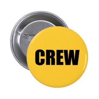 Crew Member - Event Team Staff 2 Inch Round Button