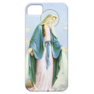 Croissant de lune de Vierge Marie Coque Barely There iPhone 5