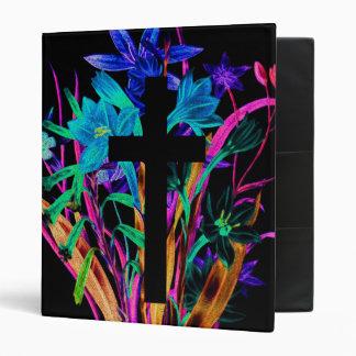 Croix et fleurs par Amelia Carrie Classeurs