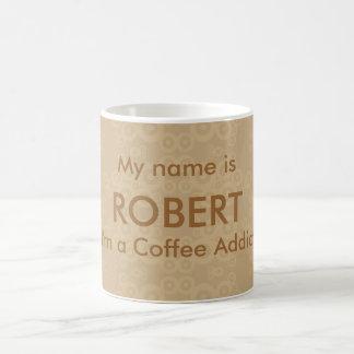 Crop Circle Coffee Addict Classic White Coffee Mug