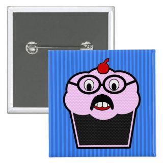 Cupcake Studmuffin 2 Inch Square Button