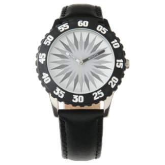 Custom Bezel in black with numbers Watches