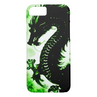 Custom Chinese Earth Dragon Fantasy Art Nouveau iPhone 7 Case