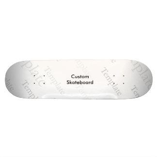 "Custom Competition 8 1/2"" Skateboard Template"