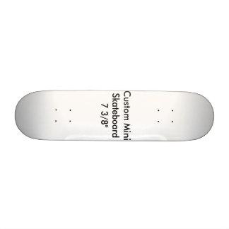 "Custom Mini Skateboard 7 3/8"" Template"