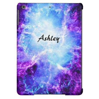 Custom Purple Blue Galaxy iPad Air Case
