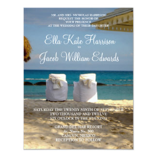 Customizable Destination Wedding Invitation