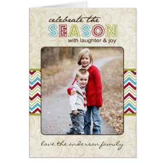 Customizable Holiday Photo Card