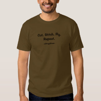 Cut Stitch fly... Shirt