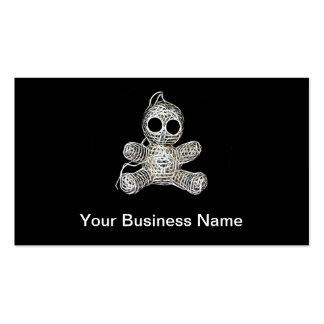 Cute Amigurumi Voodoo Doll Business Card
