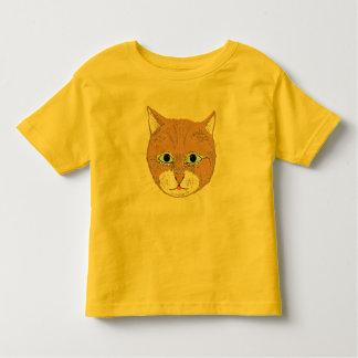 Cute brown cat tee shirt