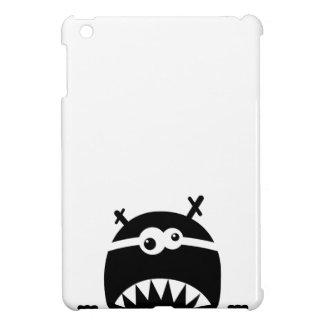 Cute little monster stencil case for the iPad mini