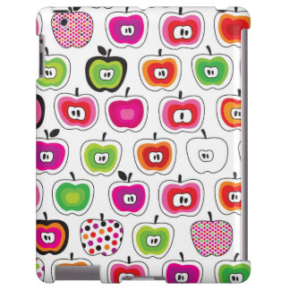 Cute retro apple pattern
