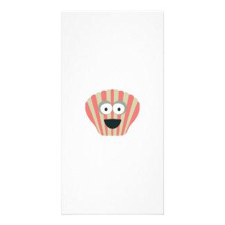 Cute Shell Photo Greeting Card