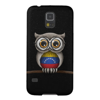 Cute Venezuelan Flag Owl Wearing Glasses Cases For Galaxy S5