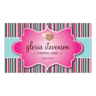 CUTE WHIMSICAL COOKIES BUSINESS CARD