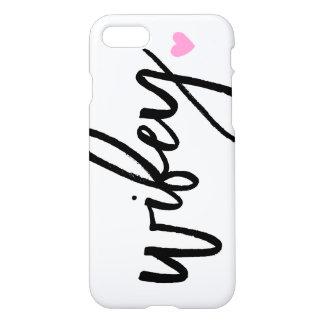 Cute Wifey Script iPhone 7 Case