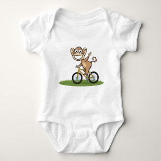Cycliste de singe tee shirt