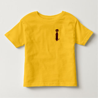 Dachshund Sidney Toddler Shirt