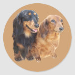 Dachshund Sweeties Sticker