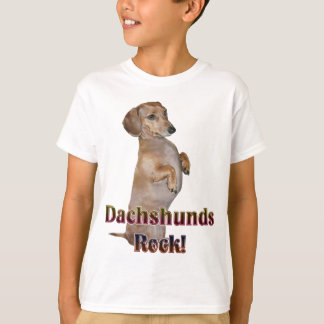Dachshunds Rock Lilly Tee Shirt