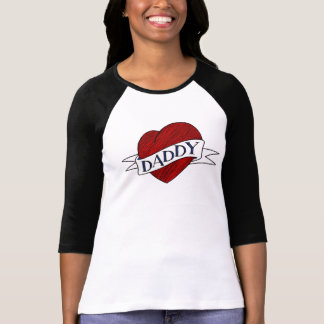 Daddy Shirt - Babydaddy - Heart Tattoo