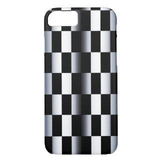 Damier abstrait coque iPhone 7