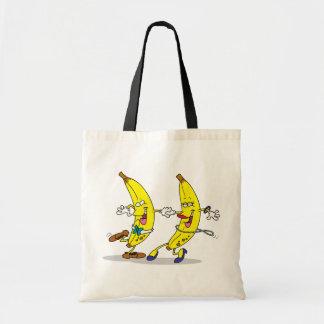 Dancing Bananas Tote Bag