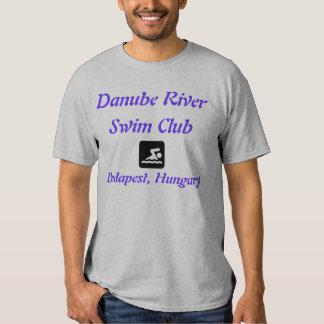 Danube River Swim Club, Budapest, Hungary T Shirts