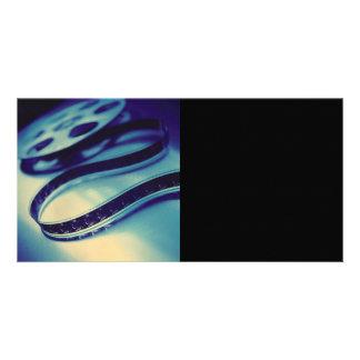 Dark Spool of Film Photo Greeting Card