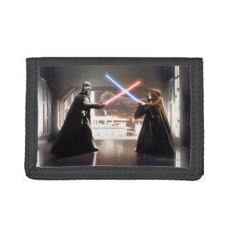 Darth Vader and Obi-Wan Still Trifold Wallet