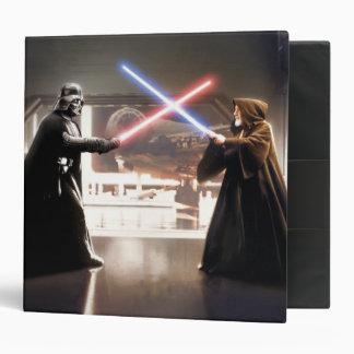 Darth Vader and Obi-Wan Still Vinyl Binders
