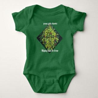 De l'homme vert de petits glands tee-shirts